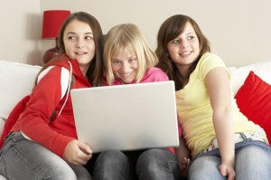 Kids can be nasty behind the curtain of social media.