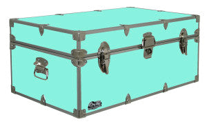 Open your C&N Footlocker to minty freshness with this camp trunk.