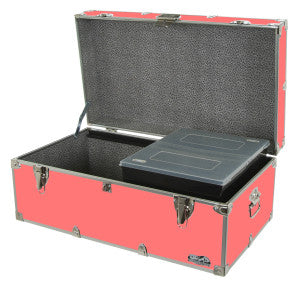 Get this Coral camp trunk for a fun, yet calming color