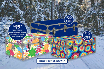 Get a load of our awesome Camp Trunk discounts!
