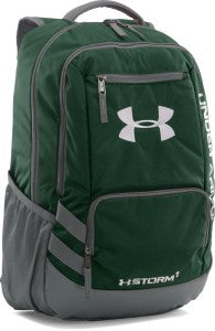 The Under Armour Hustle Backpack.