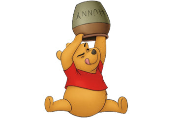Winnie the Pooh after his Disney-fication.