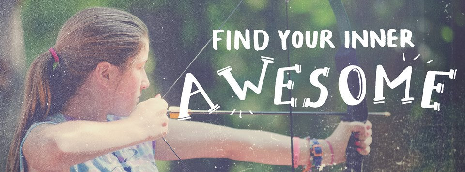 Find your inner awesomeness at Camp Airy or Louise!