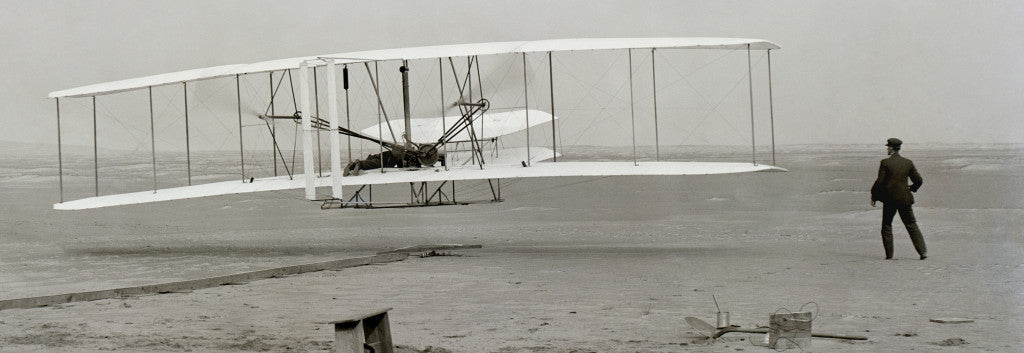 This is it---the original Wright flyer!
