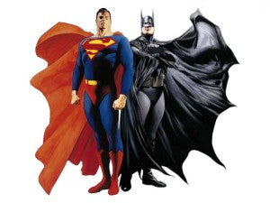 The world of Batman and Superman collide in 2016