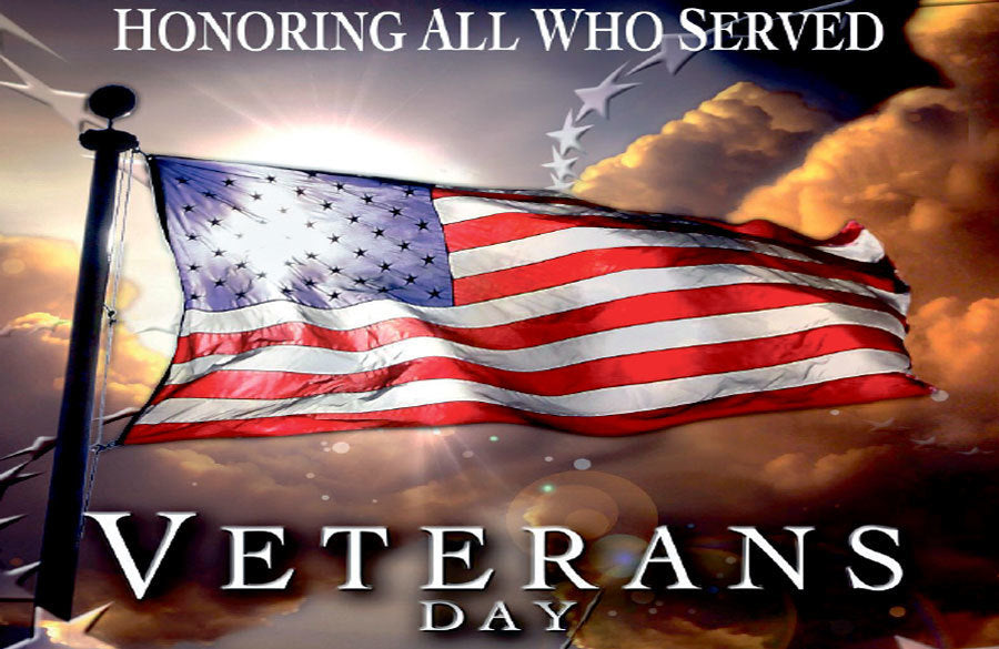 Enjoy honoring the veterans you know today!