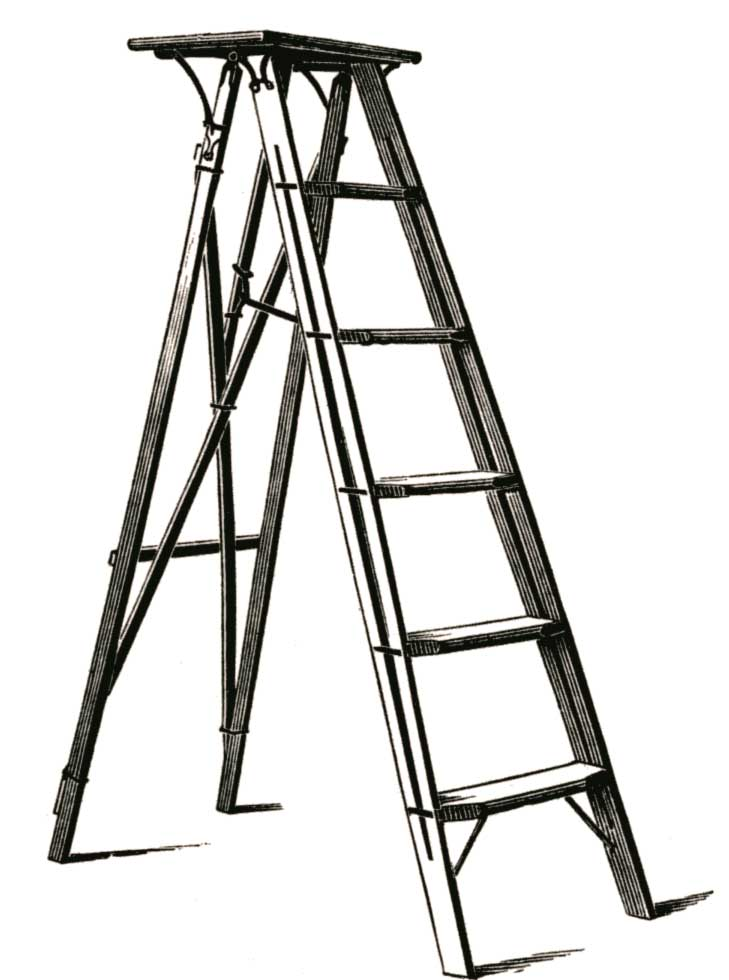 Along with avoiding black cats and stepping on cracks, steer clear of walking under ladders too!