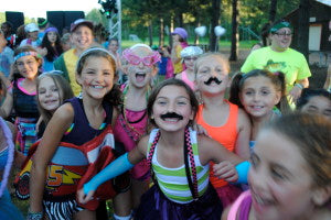 Must ash Bash at Birch Trail Camp for Girls!