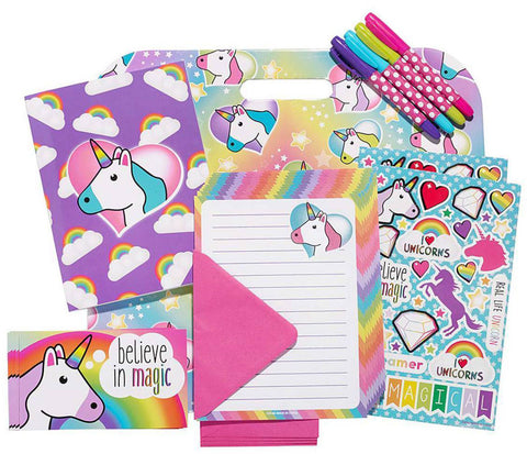 Keep in Touch with family and friends back home while you're away with our awesome stationery sets!