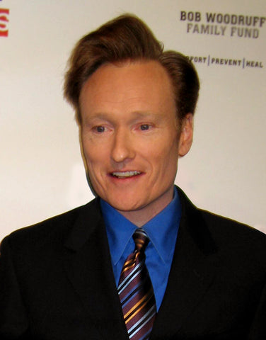 Conan's nose isn't his real nose.