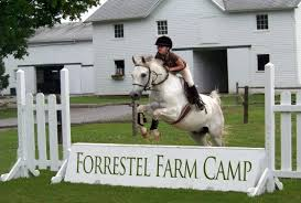 Get those thrills this summer at Forrestel Riding Camp.