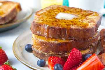 French Toast is a fantastic sweet dish for breakfast, brunch, even lunch or dinner!