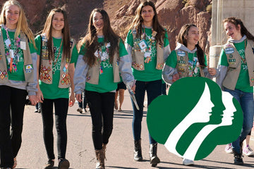 Let's hear it for the Girl Scouts, huh?! We salute you here at Everything Summer Camp.