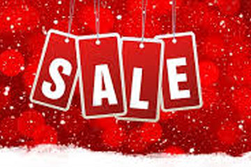 Get the last of your holiday sale shopping in and take advantage of our great deals while you still can!