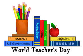 World Teachers' Day is a great day to celebrate. Make your teacher feel really good.
