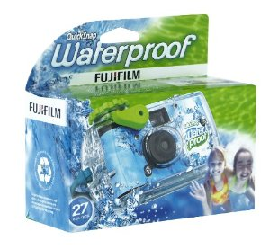 This waterproof Fujifilm camera is perfect at camp.