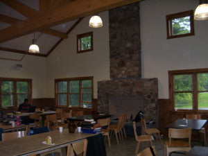 This beautiful dining hall sets a great environment for meal times.