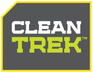 The Clean Trek Logo--these guys mean business!