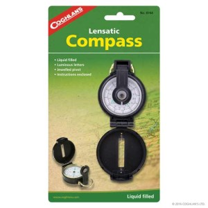 Get your compass in case you're ever stranded on a desert island!