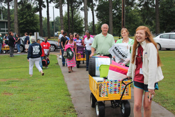 Move in day feels easier with summer camp experience.