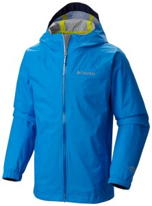 Stay dry in a downpour with the EvaPOURation Rain Jacket from Columbia!