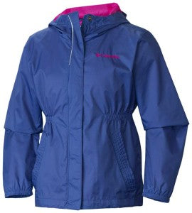 Get into the spirit of discovery with the Girls Explore More Rain Jacket from Columbia!