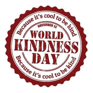 Being kind is cool, not just for the person who's benefiting, but to you too!