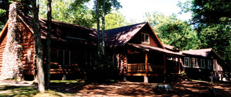 Check out the main lodge of the majestic Camp Deerhorn.