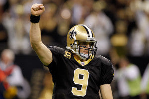 Drew Brees has seen magnificent success since his career with The Saints began.