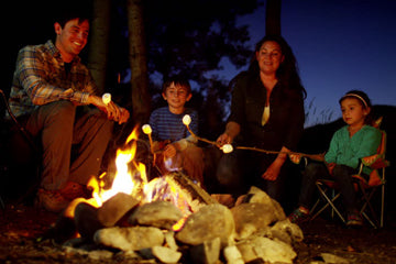 Enjoy a campfire with the folks you love today.