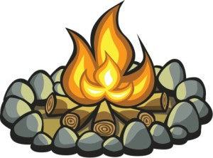 Learn how to make a campfire the SAFE way!