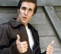 Arthur Fonzarelli was the epitome of cool in the 50s.