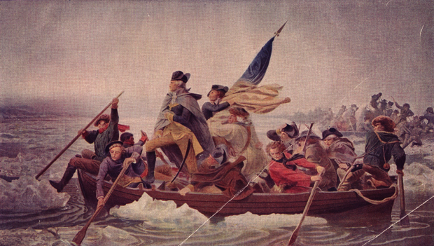 There wasn't much stopping George Washington!