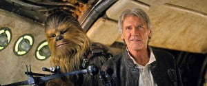 Harrison Ford reprises his role as the infamous smuggler Han Solo.