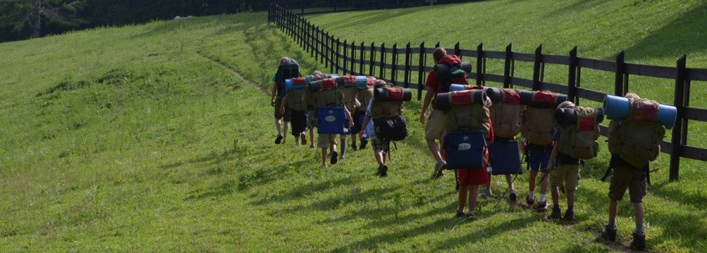 Get ready for hikes on High Rocks days at camp!