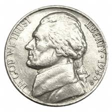 Our nation's third president is also on the nickel.