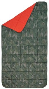Keep warm and curl up with the Kelty Bestie Blanket at camp.