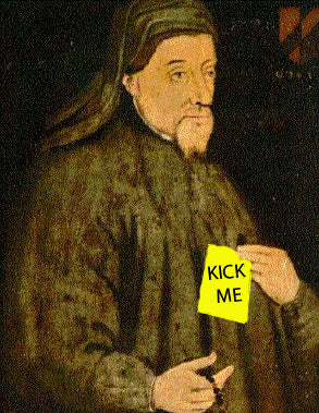 Chaucer is sometimes credited with being the first to document April Fools' Day.