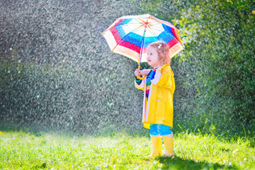 Good for rain and good for shine, get your umbrella out today!