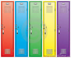 School lockers just waiting to be decorated