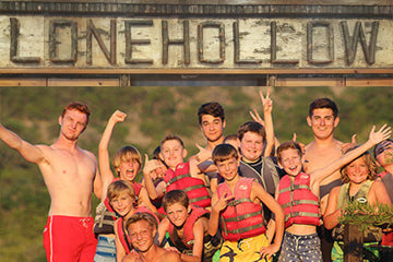 Celebrate the comaraderie at Camp Lonehollow and enjoy your summer stay!