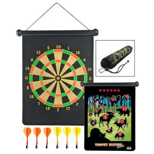 Fun for campers and safe at camp, get your Magnetic Darts Set from Everything Summer Camp.