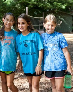 Make wonderful friends at summe camp.