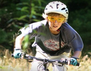 You can bike aas long as you like at High Rocks Camp for Boys.