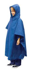Do your playin' in the rain when you have a poncho from Outdoor Products!