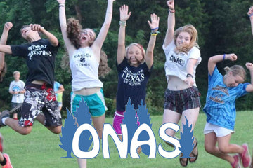 Jump in air if you're going to Camp Onas!