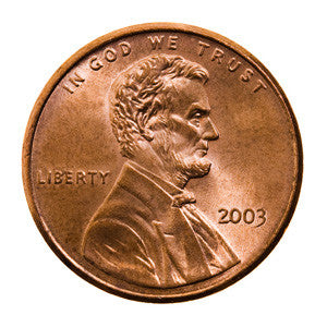 Get honest Abe's two cents...or just one, anyway..