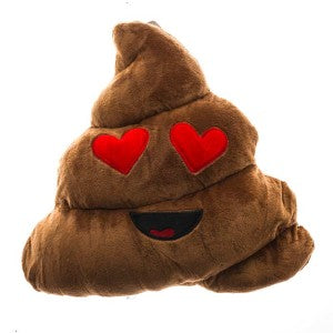 This pillow looks like poop.