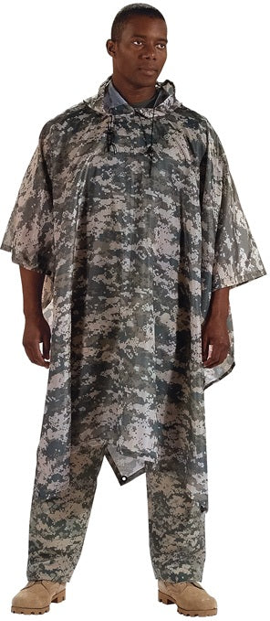 The military has become big fans of the poncho too.