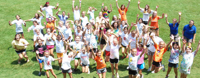 See the friendly faces and thriving community at Camp Riverview!